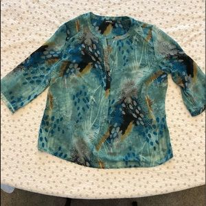 Ambrose 1X Sheer Top in great condition